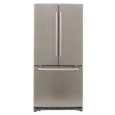 samsung 33 in w 17 5 cu ft door refrigerator in stainless platinum counter depth