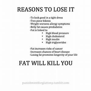 Lose weight reasons tumblr