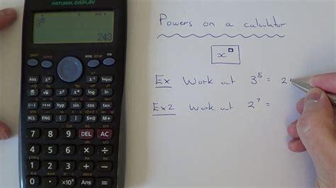 power key   casio scientific calculator youtube