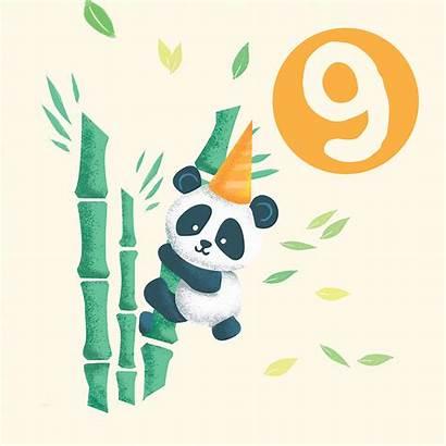 Ecard Panda Critters