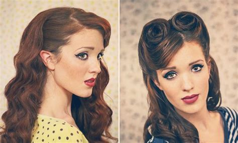 dark 50 s hair styles tagged 50s hairstyles for long