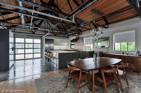 concrete kitchen design a polished concrete kitchen floor Industrial