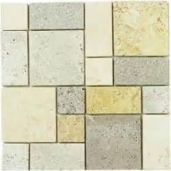 home depot brick tile jeffrey court 12 in x 12 in gold travertine brick medley