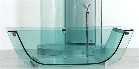 glass bathtubs trend transparent bathtubs