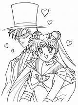 Coloring Sailormoon Series Picgifs sketch template