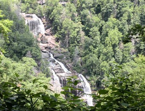 Whitewater Falls near Lake Toxaway, NC