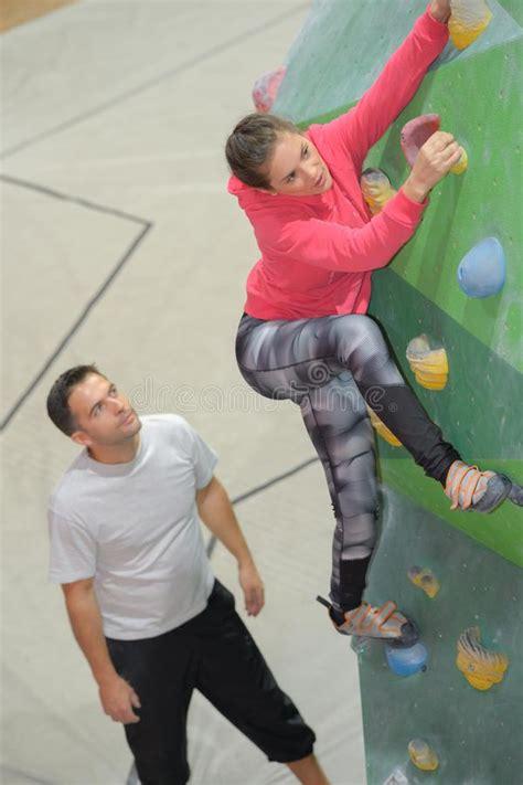 climb wall stock photo image  walls game