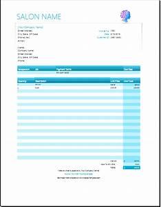 salon receipt template joy studio design gallery best With hair stylist invoice template