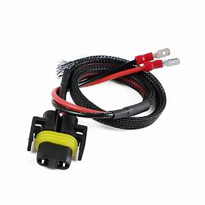 2x Extension Cable H11b H11 Led Headlight Wire Harness For