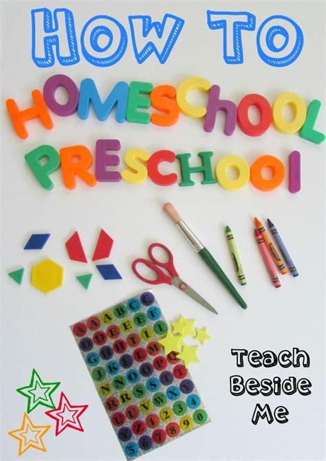mega list of homeschooling preschool resources free 757 | How to Homeschool Preschool Teach Beside Me 723x1024