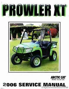 2006 Arctic Cat Prowler Xt Utv Service Manual   2257