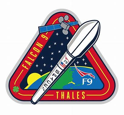 Spacex Falcon Mission Clipart Launch Patch Space