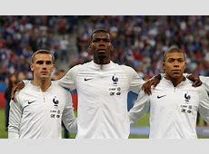 Griezmann And Mbappe Sing Pogba's Praises