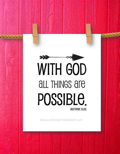 Anything Is Possible With God Quotes