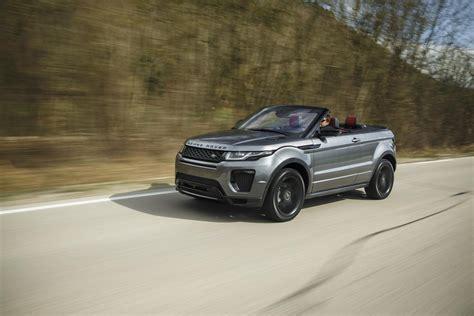 les si鑒es auto range rover evoque convertibile per tutte le stagioni auto motori