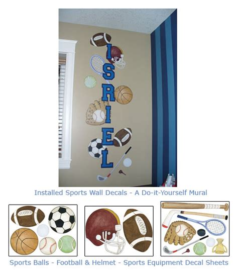 room marvelous sports decals for rooms sports