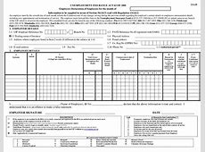 Form UI 19 Employers Declaration of Employees, Document
