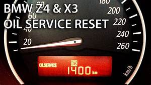 How To Reset Oil Service Inspection In Bmw Z4  U0026 X3  Srl