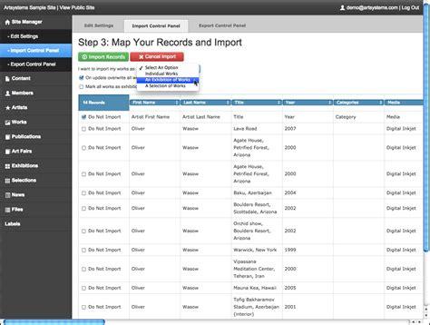 cms import website compatible