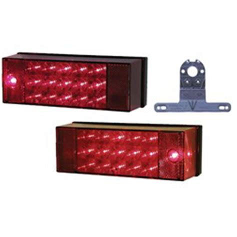 Peterson Boat Trailer Lights by Peterson Led 80 Quot Rear Lighting Kit 947 Piranha 174 Led