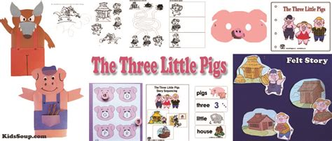 the three little pigs preschool activities three pigs activities crafts lessons and 753