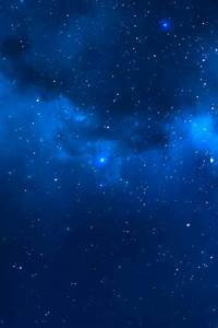Blue stars Outer space Galaxy wallpaper | Outer Space ...