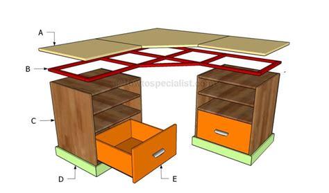 building  corner desk crafts pinterest desk plans jack oconnell  build  desk