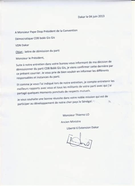 lettre de demission pompier lettre de motivation 2017