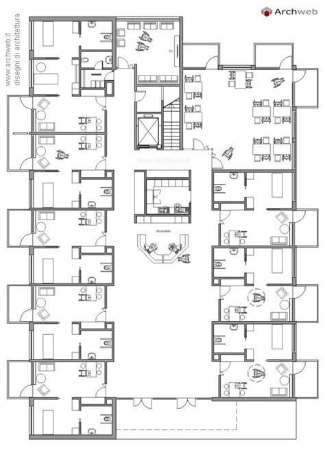Appartamenti Per Anziani Autosufficienti by Casa Di Riposo Alloggi Per Anziani Dwg