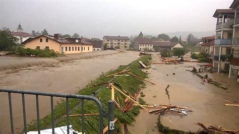 Hochwasser Die Flut In Simbach Am Inn (rottalinn) Hd 1