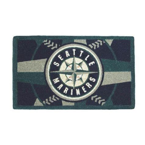 sports doormats mlb seattle mariners welcome mat by team sports america