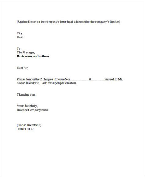 loan agreement forms   ms word
