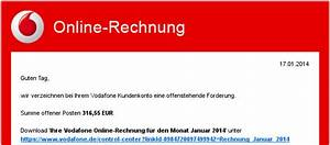Www Vodafon De Rechnung : aktuelle welle von banktrojaner mit spamassassin filterbar heinlein support unser linux blog ~ Themetempest.com Abrechnung