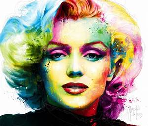 Marilyn Monroe, mixed media by Patrice Murciano | Painters ...