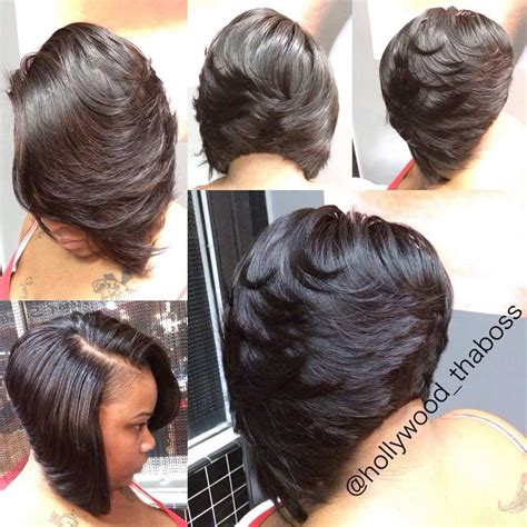 black feathered hairstyles layers hair