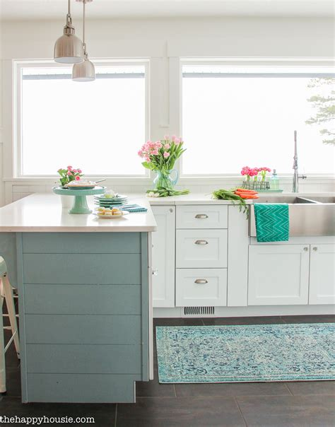 cottage style kitchen coastal cottage style kitchen tour the happy housie 2672