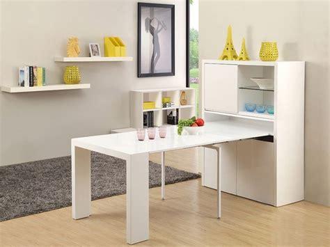 table de cuisine rabattable plan de travail rabattable cuisine 7 buffet table extensible astuceo 4 rallonges mdf laqu233