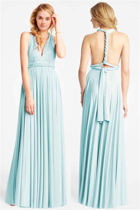 robe longue dos nu mariage chic robe maxi vert d eau longue dos nu pour t 233 moin