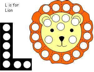 magnet pages   lion theme