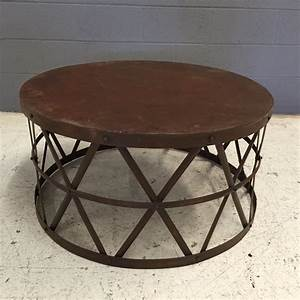 round metal coffee table nadeau nashville With round wire coffee table