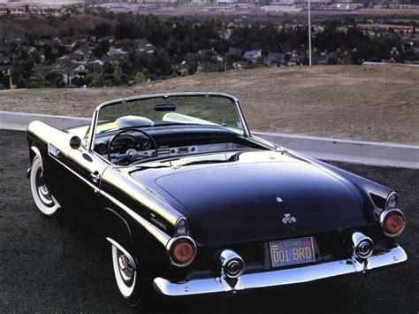 Ford Thunderbird 1955 Wallpaper