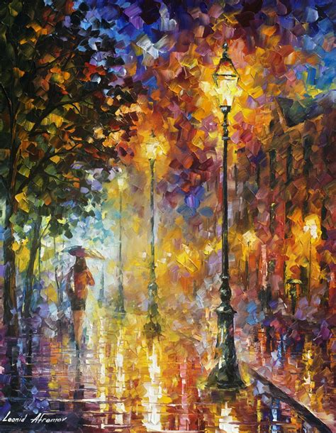 Dream On  Palette Knife Oil Painting On Canvas By Leonid