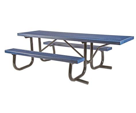 picnic table frame kit ada frame kit for 8 ft picnic table welded 2 3 8