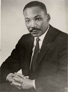 Dr Martin Luther King Jr. The Man and the Dream a martyr ...