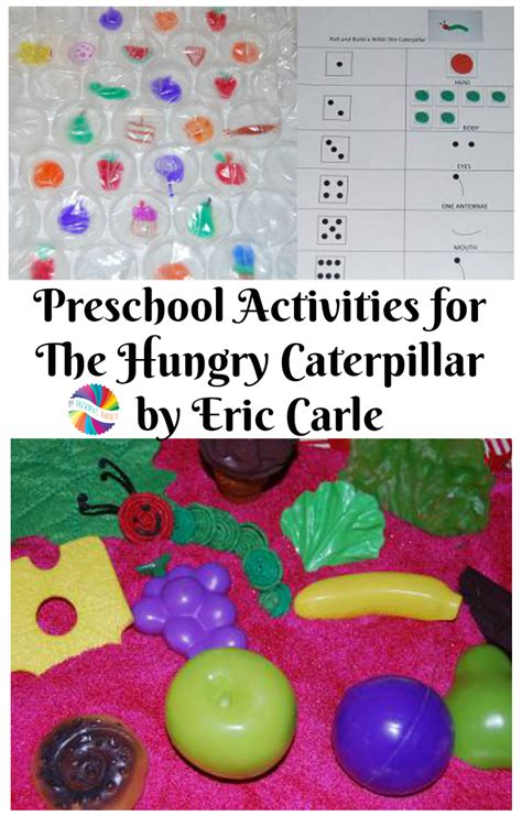 the hungry caterpillar activities happy birthday eric 836 | Preschool Activities for The Hungry Caterpillar by Eric Carle