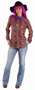 Kleidung 60 Jahre : hippie kost m kleidung damen 60er 70er jahre flower power damen hemd kost me ~ Frokenaadalensverden.com Haus und Dekorationen