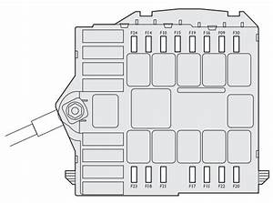 Fiat Bravo  2008 - 2014  - Fuse Box Diagram