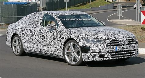 New Audi S8 2018 by Spied 2018 Audi S8 Gears Up To Take On Merc S S63 Amg