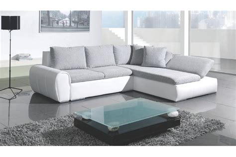 canape angle gris blanc canapé d 39 angle design roundup design