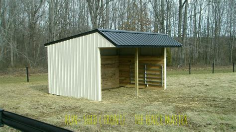 Run In Shed For Horses by Barns Run In Sheds Remington Va The Fence Master